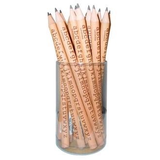 Indispensables crayon de papier motif alphabet 17,5cm