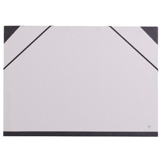 CLAIREFONTAINE - Indispensables carton à dessin kraft avec fermeture élastique 37x52cm