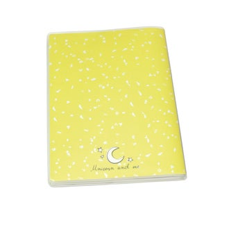 Petit carnet à couverture - je suis dans la lune -jaune