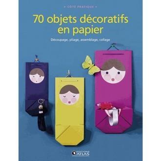 ATLAS - 70 objets décoratifs en papier