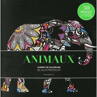 MARABOUT - Animaux - Carnet de coloriage