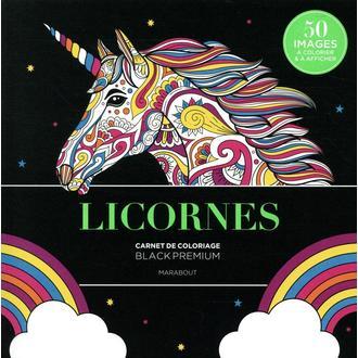 MARABOUT - Licornes mandalas