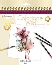 Achat en ligne Carnet de 14 coloriages Wild Collector n°2 250g