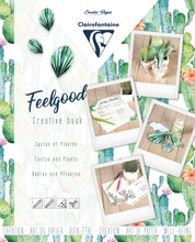 Achat en ligne Carnet créatif feelgood, Cactus et plantes, 26x21cm