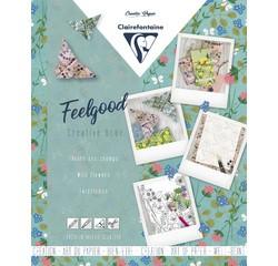 Achat en ligne Carnet créatif feelgood,Fleurs sauvages, 26x21cm