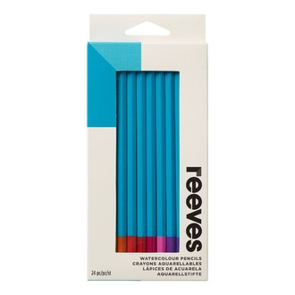 REEVES -Set de 24 crayons aquarelle