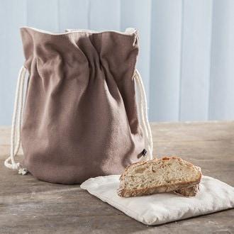 Sac à pain beige D21 H25