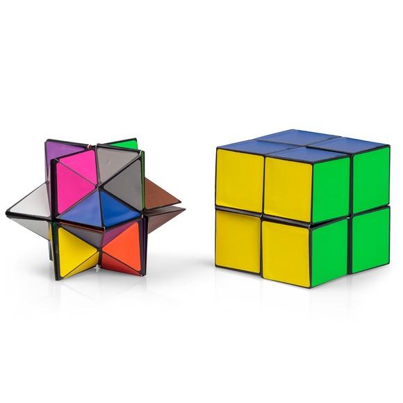 Achat en ligne Coffret double cubes casse-tête