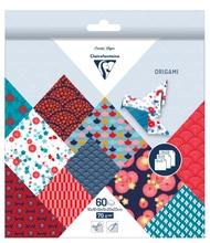 Achat en ligne Origami bloc 60 feuilles carréss Hanayo