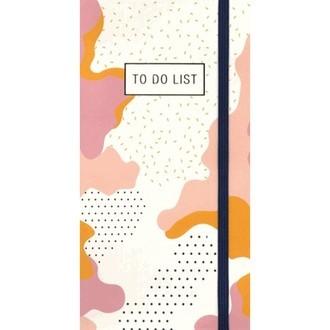 Bloc détachable To do List imprimé graphique les créatifs de D&T