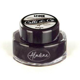 ALADINE- Encre de calligraphie noir 15ml