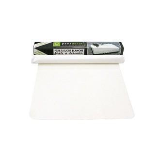 PATISDECOR - Pate à sucre prête à dérouler blanc rectangle
