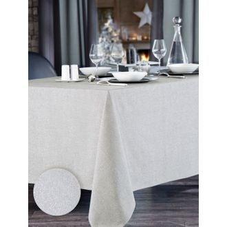 Nappe blanche Dao 150x250 cm