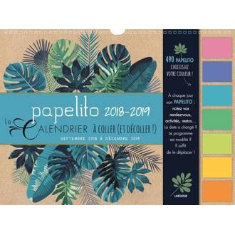 Papelito Calendrier 2018-2019