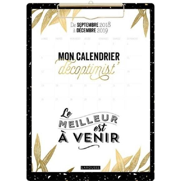 Mon Calendrier Fr.Mon Calendrier Decoptimist Au Mois Clip Board