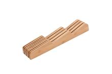 Achat en ligne Range couteaux compact en bambou 42,5x5,7x6cm