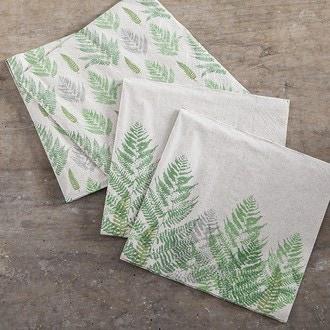 25 serviettes 25x25 cm recycling tissue 2 plisfarn