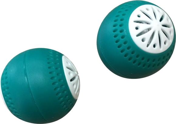 Achat en ligne Lot de 2 boules anti-odeur pour frigo