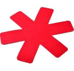 compra en línea Set de 3 protectores de estrella para sartenes rojos (36 cm)