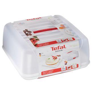 TEFAL - Cloche à gâteau rouge
