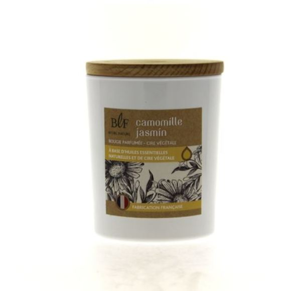 Bougie parfumée camomille jasmin 230g
