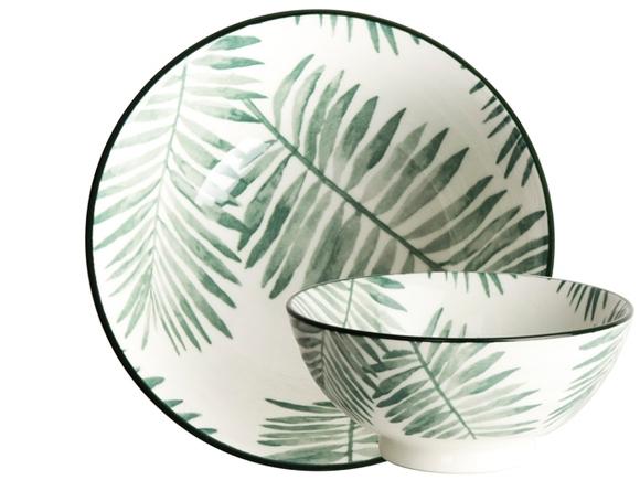 Achat en ligne Bol à diner Leaf Evergreen 12cm