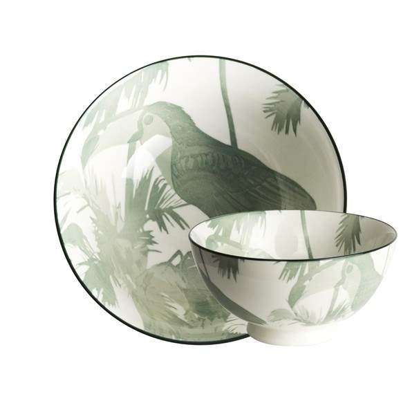 Achat en ligne Bol à diner Bird Evergreen 15,7cm