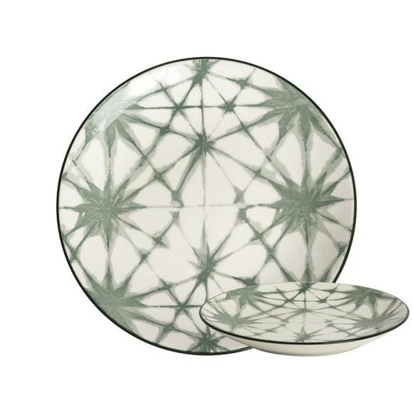 Achat en ligne Assiette Atomium Evergreen 16,5cm