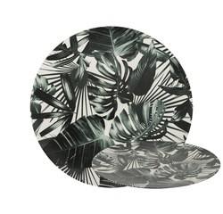 Achat en ligne Assiette de présentation feuilles de palmier 33 cm