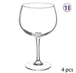 compra en línea 4 copas de balón de cristal para GinTonic (70 cl)