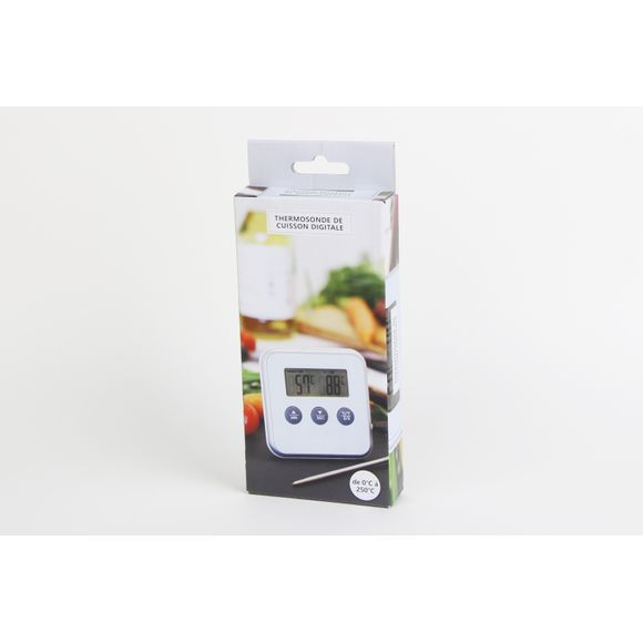 Achat en ligne Thermomètre de cuisson avec sonde