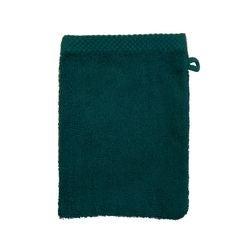 acquista online Guanto da bagno in cotone blu petrolio