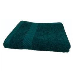 Achat en ligne Serviette invité 30X50cm en coton éponge peacock