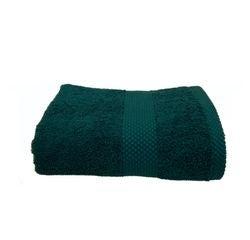 Achat en ligne Serviette de toilette 50X90cm en coton éponge peacock