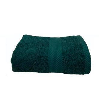 Serviette en coton éponge peacock 50x90cm
