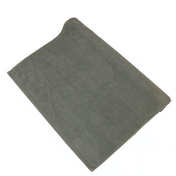 Tapis de bain 50x70cm en coton éponge fumé