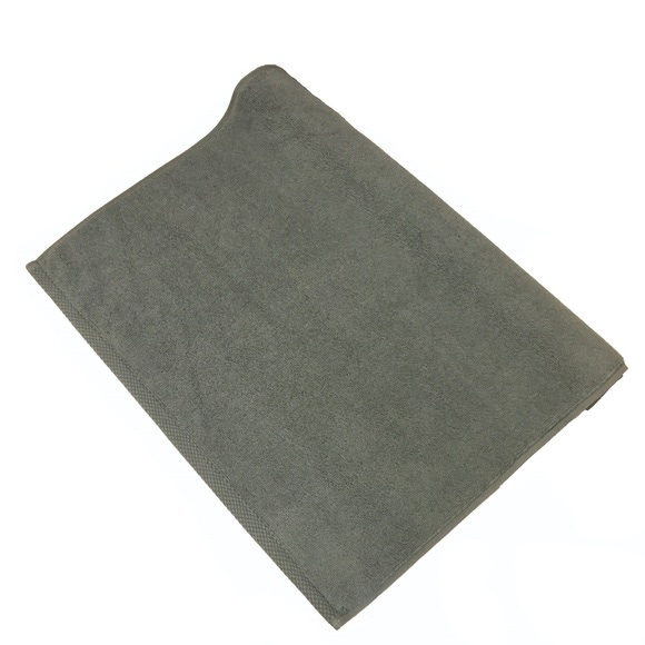 Achat en ligne Tapis de bain 50x70cm en coton éponge fumé