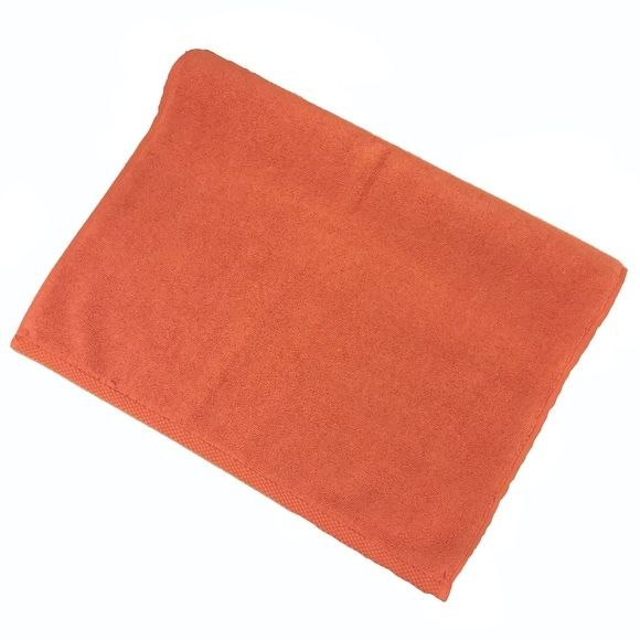 Tappeto da bagno in spugna di cotone rosa antico 50x70