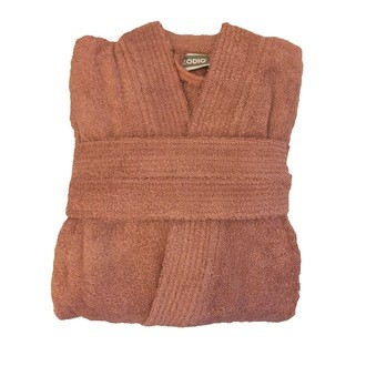 Peignoir en coton éponge fané Taille S