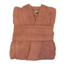 Achat en ligne Peignoir mixte taille L en coton éponge fané