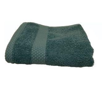 ZODIO - Serviette invité en coton éponge bleu postal  30X50cm