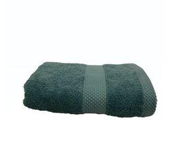 Achat en ligne Serviette de toilette 50X90cm en coton éponge bleu postal