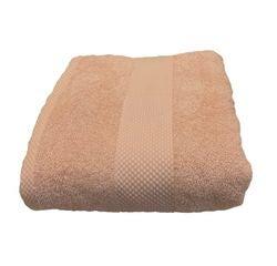 compra en línea Toalla de ducha de felpa algodón carne (70 x 130 cm)