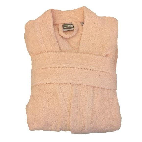 Accappatoio in spugna di cotone rosa taglia L