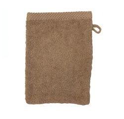 Achat en ligne Gant de toilette en coton éponge tourterelle