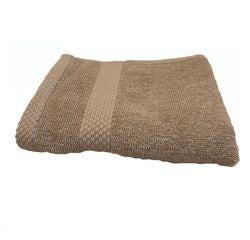 Achat en ligne Serviette invité 30X50cm en coton éponge tourterelle