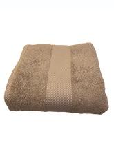 Achat en ligne Serviette de douche 70X130cm en coton éponge tourterelle