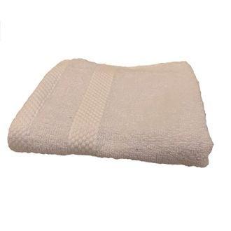ZODIO - Serviette invité en coton éponge blanc 30X50cm