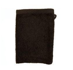 acquista online Guanto da bagno in cotone nero