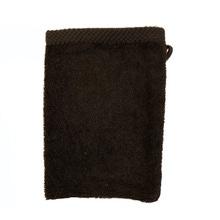Achat en ligne Gant de toilette en coton éponge charbon